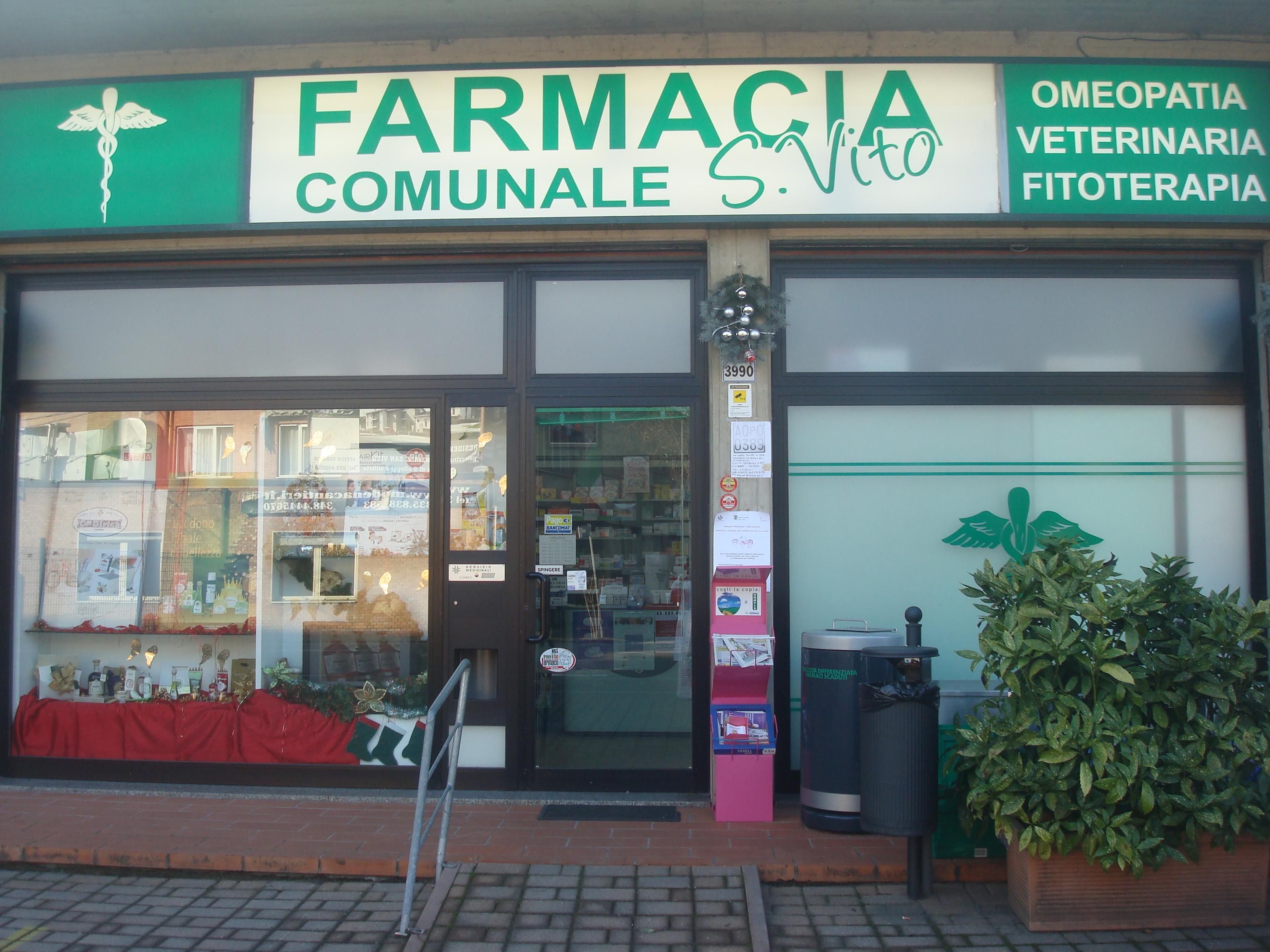 Farmacia comunale san vito comune di spilamberto per - Farmacie di turno comune bagno a ripoli ...
